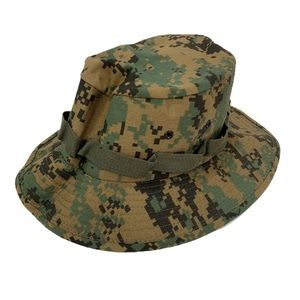 Accessories - Military Type Camouflage Boonie Hat